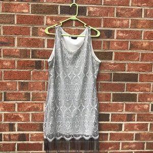 Venus Simmering Fringed Dress